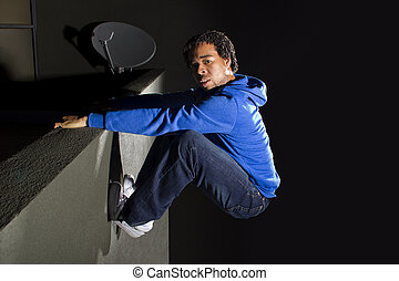 scaling,  climibing,  parkour,  /, noturna