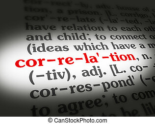 Dictionary Correlation - Dictionary definition of the word...
