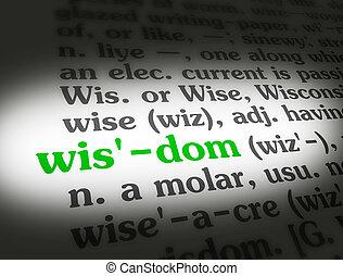 Dictionary Wisdom