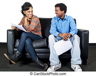 Actor Auditions - actors in an audition or job interview