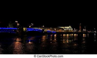 Night view of Opening bridge