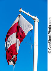 windsock without wind - a windsock wind without hanging...