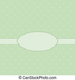 Cute template for a card or design