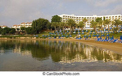 Holiday resort at Protaras area in Cyprus