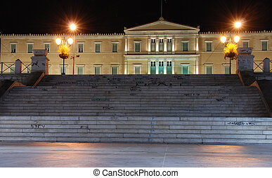 Constitution Square, Athens - Constitution Square in Athens...