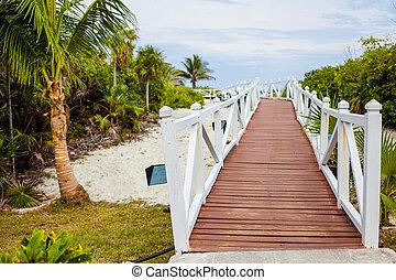 Romantic Walkway to go to the Beach - Beautiful Romantic...