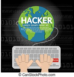 Hacker - Hacker illustration vectorEPS10