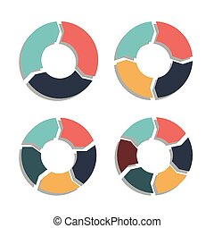 Circle Arrows. Editable EPS format