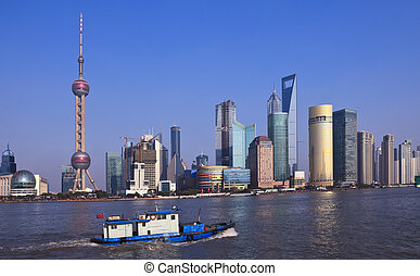shanghai china - the scene of shanghai china
