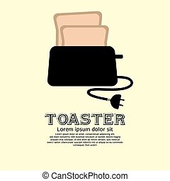 Toaster - Toaster vector illustrationEPS10