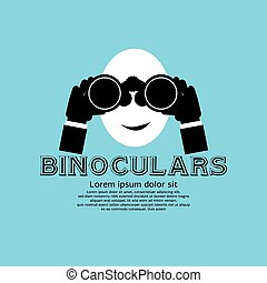 Binocular. - Binocular Vector Illustration EPS10
