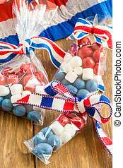 Colorful treats for the 4th of July - Colorful treats for...