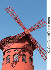 The Moulin Rougein Paris, France.-can dance. - The Moulin...
