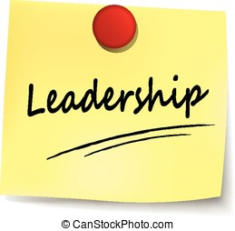 leadership note
