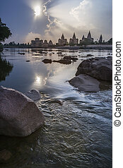 Orchha Cenotaphs - Madhya Pradesh - India - The Cenotaphs...