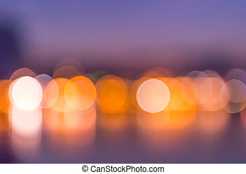 bokeh elegant abstract background