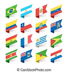Flags of the World, South America - South America