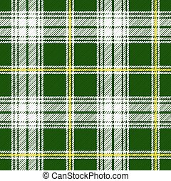 St Patrick's Tartan - Seamless illustration