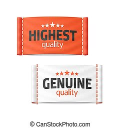 Highest and genuine quality