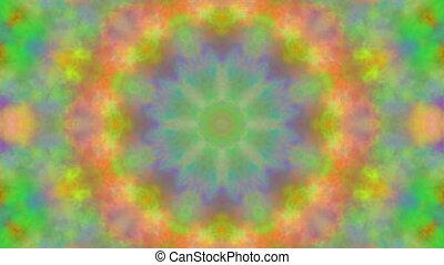 Trembling bokeh kaleidoscope