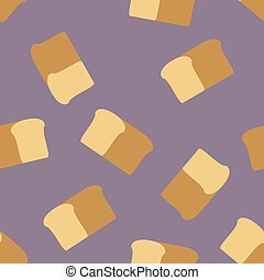 bread seamless pattern.