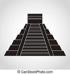 pyramid mexican - piramid mexican design, vector...