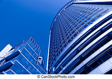 modern building - the background with the modern building...