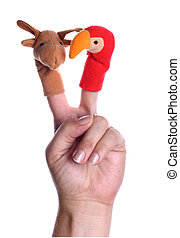 puppets - some little toys for theater