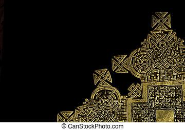Etiopczyk, krzyż,
