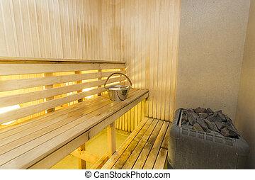 Sauna interior - Sauna