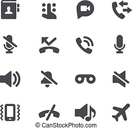 Phone Calls // Apps Interface - Vector icons for your web or...