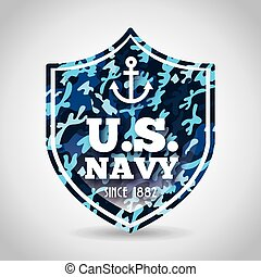 military camouflage design, vector illustration eps10...