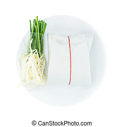 Pad Thai Stir-Fry Rice Noodles with shrimps in package