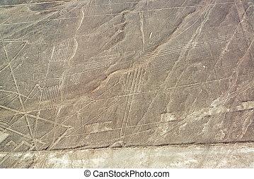 Nazca Lines Geoglyphs - Nazca Lines geoglyphs in Nazca, Peru