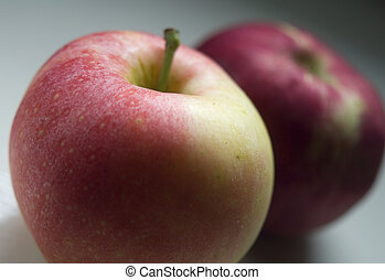 Apples 2 - Two apples shot with shallow depth of field