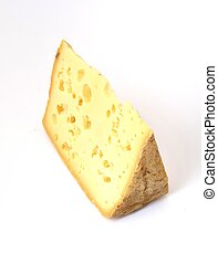 Brittany tomme cheese - Close-up on Brittany tomme cheese