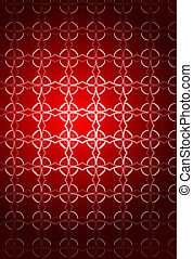 Abstract composition for Christmas background