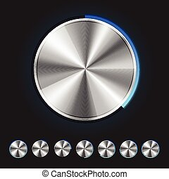 Vector Metallic Knobs