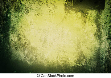 background in grunge style green color