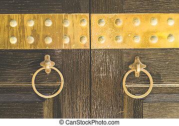 Door knob - vintage effect