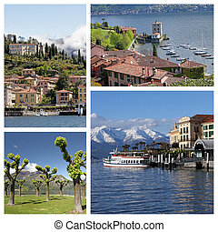 images from Bellagio - called the pearl of Lake Como, Lombardy,