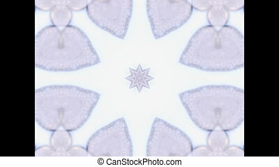 Abstract Ethnic pattern kaleidoscop