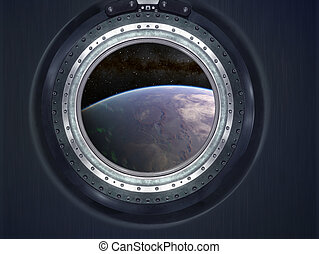 Alien Exo Planet Elements of this image furnished by NASA