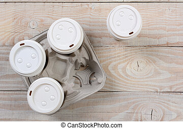Take Out Coffee Carrier