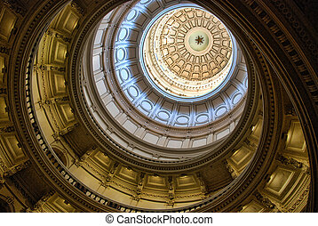 Detail of Austin Capitol, Texas, U.S.A.