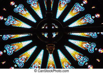 Detail in a Austin Church, Texas