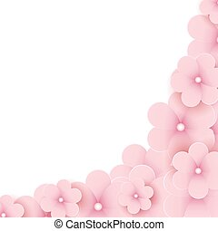 Spring background for the design