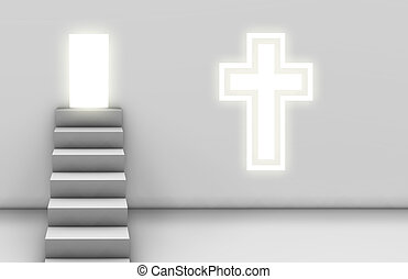 Path to Salvation Christan Church Concept Art