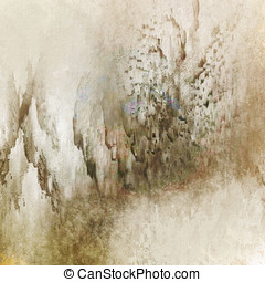 Distressed Browns Abstract
