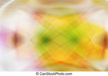 Motion on Yellow Abstract background